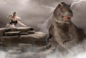 Dino Composite by tsphoto726