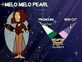 TG | Melo Melo Pearl by undercoverghost