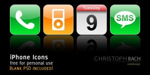 iPhone Icons by creeker-de