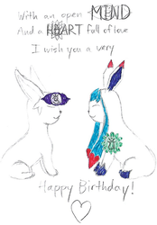 Happy Birthday Glacie! by Uri-the-Espeon