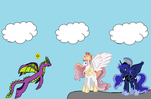 Spike, Sparx, Solaris and Artemis by Spartan545