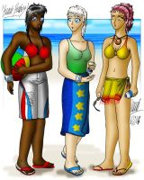 Beach Babes by annarti