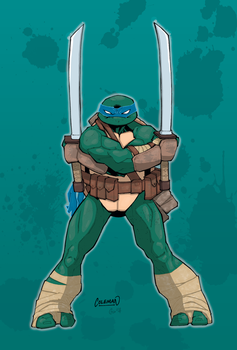 Leonardo Colours by giantboydetective