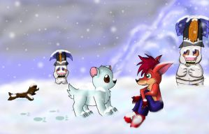 Crash Bandicoot - Polar by pikachu-25