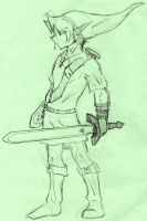 Link rough by Raykka