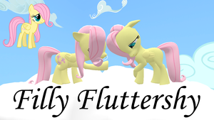 Filly Fluttershy 2.0 (Model DL) by Fauna-Joy