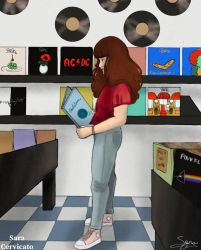 Record Store by SaraCer03