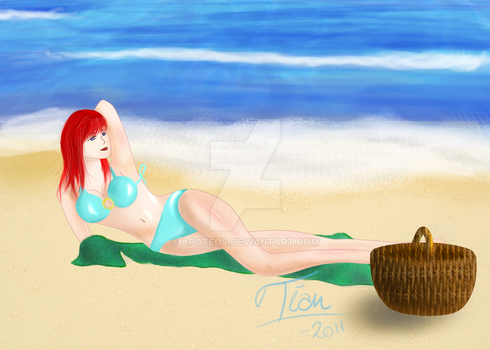 Visiting The Beach by Apoteos