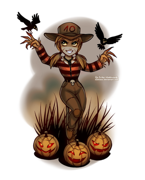 Monster Countdown: Scarecrow by daekazu