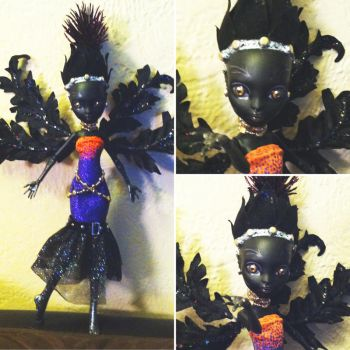 Thalma Thistle: Monster High Custom by TerribleToadQueen