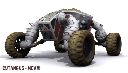 Hard Environment Multipurpose Vehicle HEMV-A02 by CUTANGUS