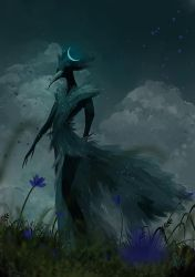 The Raven King  - Spitpaint by mohn-blume
