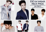 [PNG PACK #167] EXO-M MAMA by fairyixing