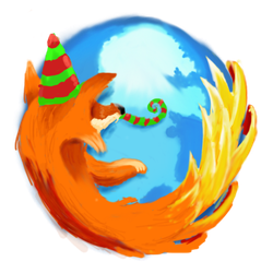 Feierfox  (Firefox Icon) by Pekemon666