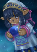 Star Sybil ~ by moonshadebutterfly