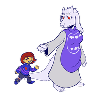 Me and Goat Mom by Lucheek