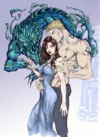 Rhage and Mary - BDB by geeport