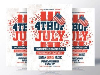 4th of july flyer by RomeCreation