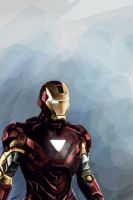 Iron Man by Dracarian