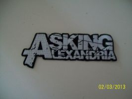 Asking Alexandria patch by A7XFan666