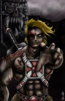 He-Man Zombie 2012 by Art-Of-Nathan-Wright