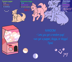 .:Pupper Gatcha! (OPEN):. by layinlow