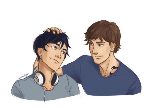 Ty and Julian by taratjah