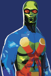 Martian Manhunter by BeeEmDoubleU