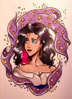 The Hunchback of Notre Dame-Esmeralda by Watermelon2001
