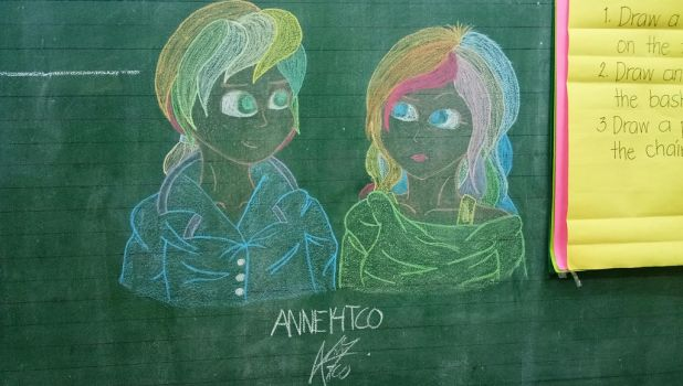 Blackboard Art Challenge by ANNE14TCO