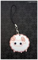 Little Lamb Charm by littlepaperforest