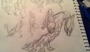 Doodles with Superior Spiderman by marvelmania