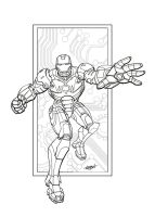 Invincible Iron Man by LostonWallace