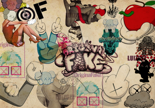 KAWS WALLPAPER DESIGN by luizgzz