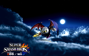Super Smash Bros. Wii U / 3DS - Meta Knight by Legend-tony980