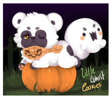 2late4halloween - Little Ghost Cookies [CLOSED] by hereiskoko