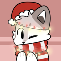 Lobo Christmas Icon by QTipps