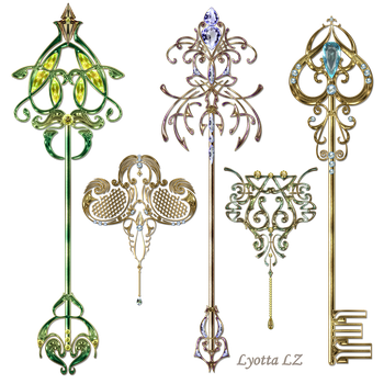 Gold keys2 Lyotta by Lyotta