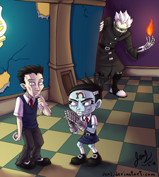 Crash Twinsanity - Academy of Evil by JenL