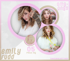 PACK PNG 201 // EMILY RUDD by OMG-PNGS