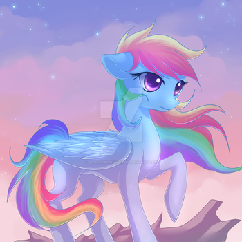 On the top by Jacky-Bunny