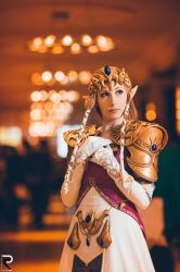 Zelda Close-Up by CelestialExploring