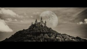 Spooky Castle by ArkanumTenebrae