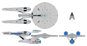 USS Enterprise NCC 1701 A Alternate KT by nichodo