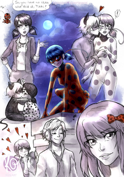 Miraculous Ladybug - Miraculous Sketchpage by KGxspace