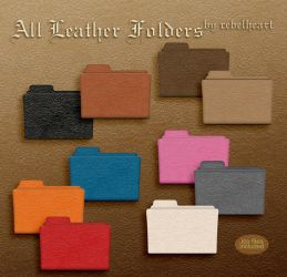 all leather folders by seven4soul