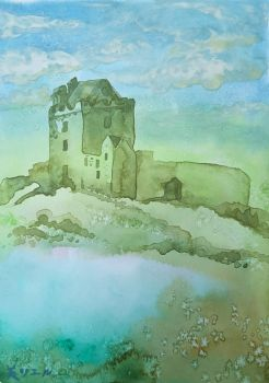 Ruins of Irish Castle by MirielVinya