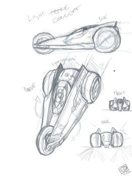 Tron Tricle WIP by SoulRanger