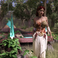 Lena - Lady Of The Forest by Vizzee