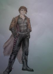 Got bored, drew a Gambit. by ShiningamiMaxwell